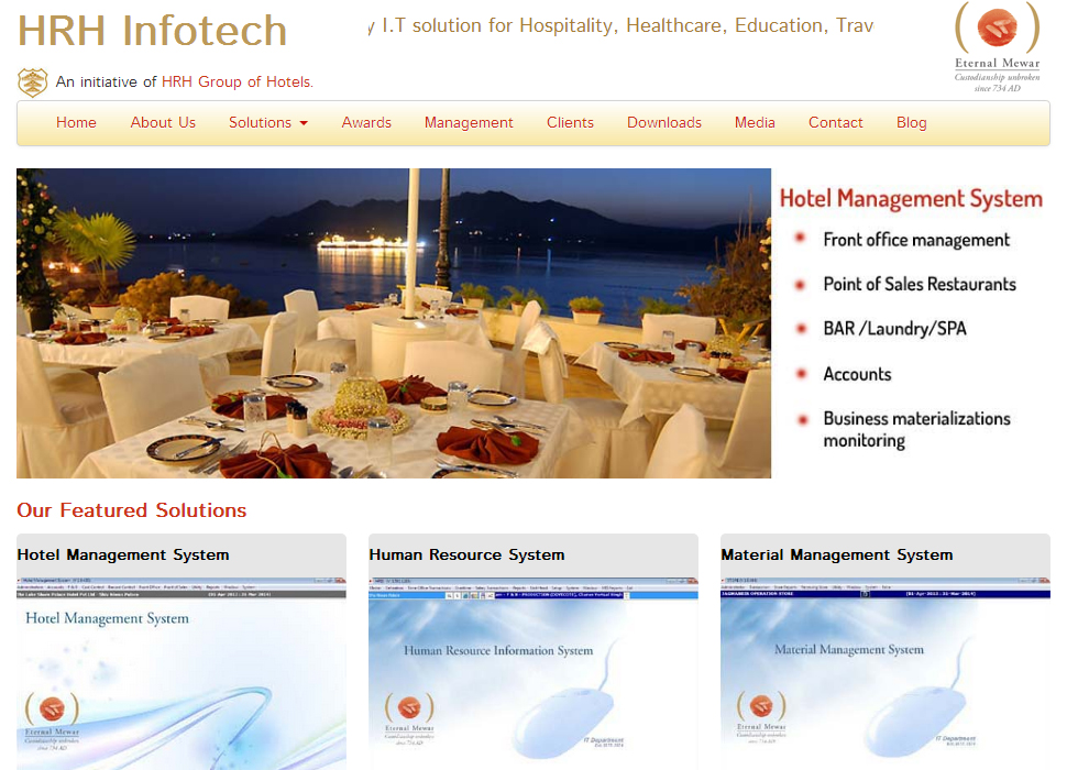 HRH Group of Hotels launches its IT Company (HRH InfoTech)